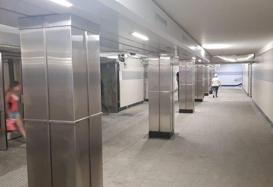 Изделия из нержавеющей стали AISI 304 для нужд метрополитена