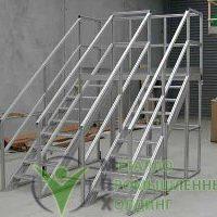 лестницы из алюминия