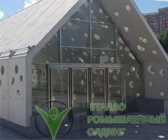 маятниковые двери - станция метро солнцево