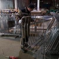 передвижные мобильные ограждения из нержавеющей стали