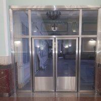 Двери маятниковые типа метро 8