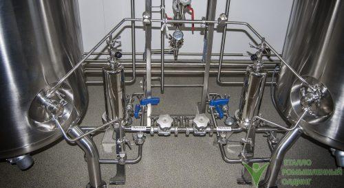 технологические трубопроводы из нержавеющей стали на заказ