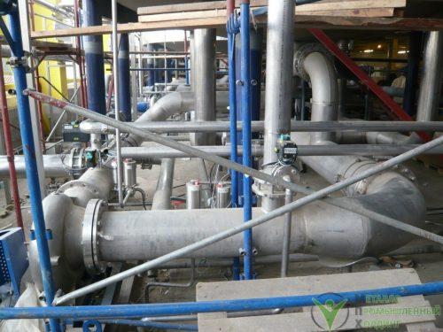 технологические трубопроводы из нержавеющей стали 04