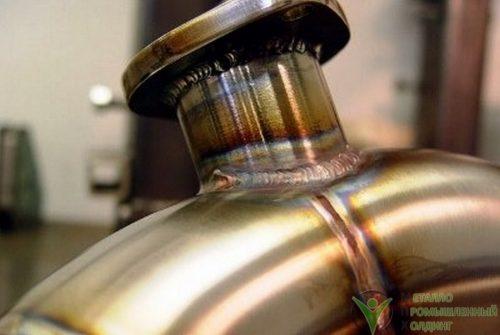технологические трубопроводы из нержавеющей стали 07