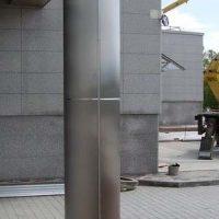 квадратные матовые облицовочные колонны