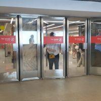 Двери двухстороннего открывания