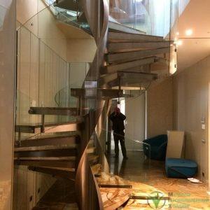 Изготовление алюминиевых изделий, Изготовление нержавеющих металлоизделий - Лестницы из нержавеющей стали