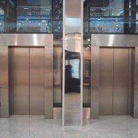 Облицовка лифтовых павильонов