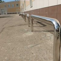 Изготовление нержавеющих металлоизделий - Отбойники из нержавеющей стали