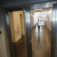 Двупольная распашная дверь заказать изготовление