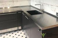 Изготовление нержавеющих металлоизделий - Кухонные мойки, фартуки и столешницы