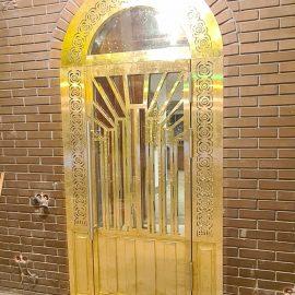 Двери из латуни